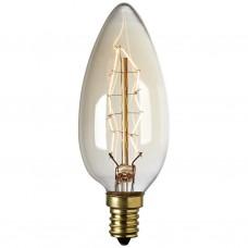 40W Candle Filament Bulb SES