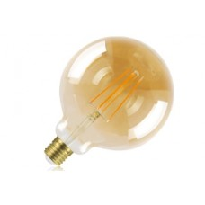 Amber Tint Dimmable LED Filament Globe