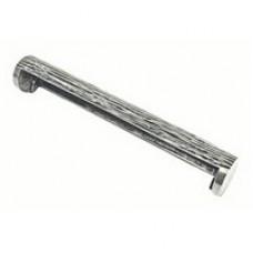 Tube Pewter pull handle