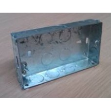 Double 25mm metal box