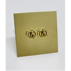 Double Dolly Switch on a Single Square Metal Plate