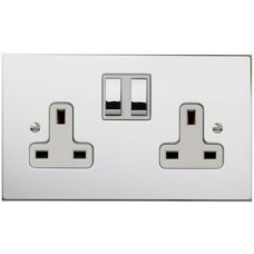 Double 13A Switched Socket