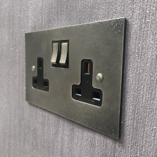 Double 13A switch socket