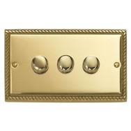 Triple 2Way Dimmer Switch 400W
