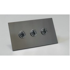 Triple Dolly Switch on a Profile Metal Plate