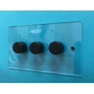 Triple 60-400W Dimmer Switch
