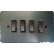 Quadruple rocker switch