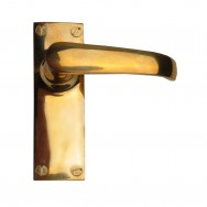 Lever Latch Unlacquered Brass