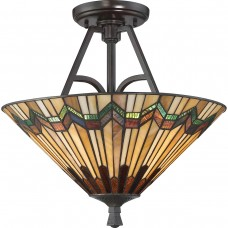 Alcott Large Semi Flush