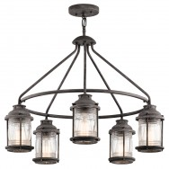 Ashland Bay 5lt Outdoor Chandelier