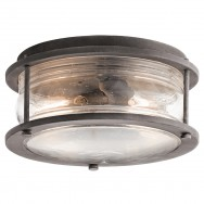 Ashland Bay 2lt Outdoor Flush Ceiling