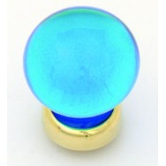 Balloon Glass Cupboard Knob