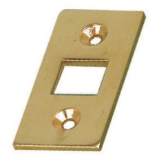 Bolt - Location plate for large bolt in brass