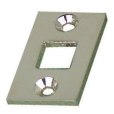 Bolt - Location plate for small bolt in nickel