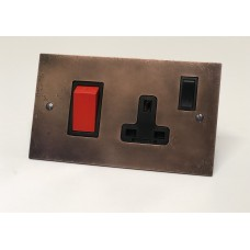 45A Cooker Switch and single 13A switched socket
