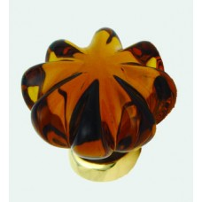 Daisy Glass cupboard Knob