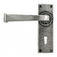 Door Lever Allendale - Lock/Keyhole