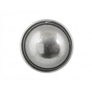 Pewter Door Knob on Rose Backplate
