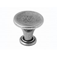 Large Savoy Genuine Pewter Cabinet Knob