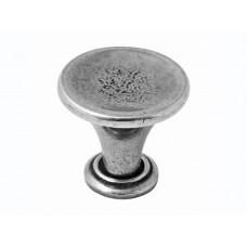 Large Savoy Genuine Pewter Cabinet Knob