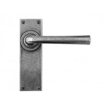 Pewter Lever/Passage Handle (sprung)