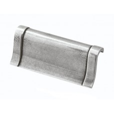 Small Wave Genuine Pewter Cup Handle