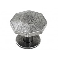 Large Tunstall Genuine Pewter Cabinet Knob