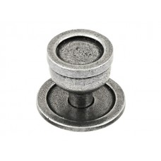 Quebec Genuine Pewter Cabinet Knob