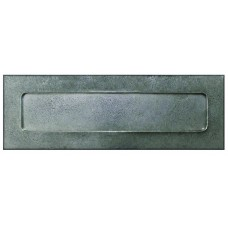 Pewter door letter box