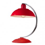 Franklin Red Table Lamp