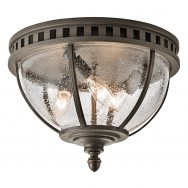 Halleron 3lt Flush Ceiling Light