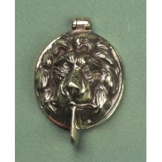 Period Lionshead lock cover