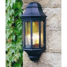 Malaga Wall Lantern in Black