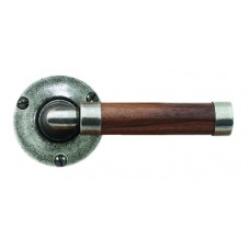 Door Knob Milton (American Walnut) - Rose