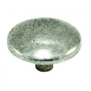 Large Hetton Genuine Pewter Cabinet Knob