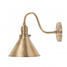 Provence 1Lt Wall Light - Aged Brass
