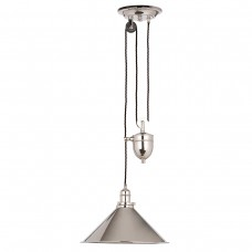 Provence 1 Lt Rise and Fall -Polished Nickel