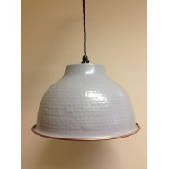 Window Grey Pendant with Copper Trim **Limited Availability**