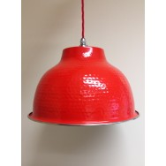 Letter Box Red Pendant with Chrome Trim **Limited Availability**