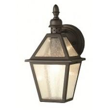 1 Lt Wall lantern - Black Only