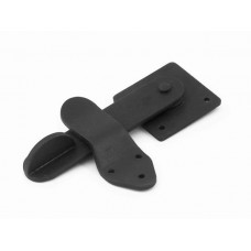 Natural Black Privacy Latch Set