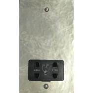 Dual Volt Shaver Socket