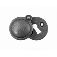 Forged Steel Round Escutcheon with Cover