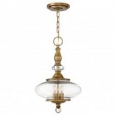 Heritage Brass Wexley 3lt Pendant