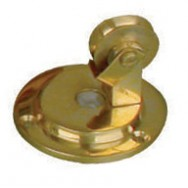 Bell pull - blanking pulley in brass