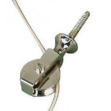 Bell pull - extension pulley in nickel