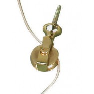 Bell pull - extension pulley in brass