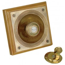 Bell pull - Claverley bell pull - brass