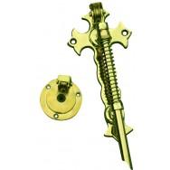 Bell pull - Winchester bell rod - brass