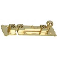 Bolt - Small arts & crafts bolt - aged brass